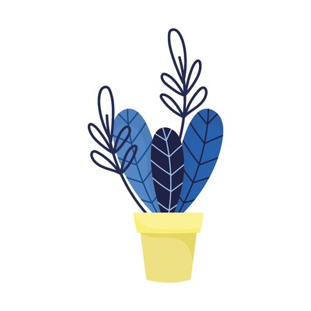 potted plant leaves foliage decoration ornament