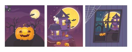 celebration scary party banner halloween
