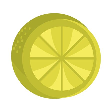 slice lemon citrus fruit tropical