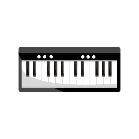 synthesizer percussion musical instrument isolated icon