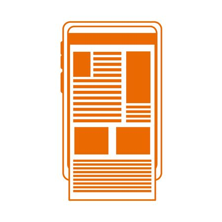 smartphone website content home education line color style icon
