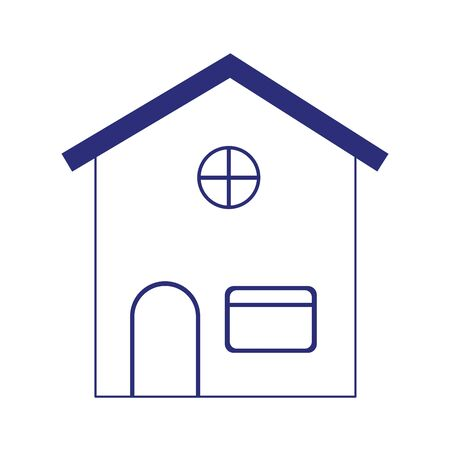 house property residencial isolated icon on white background