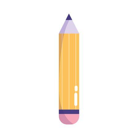 creativity pencil draw write isolated icon design