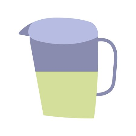 cooking juice pitcher beverage isolated icon design