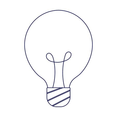 Light bulb design, Energy power and technology theme Vector illustration Ilustração