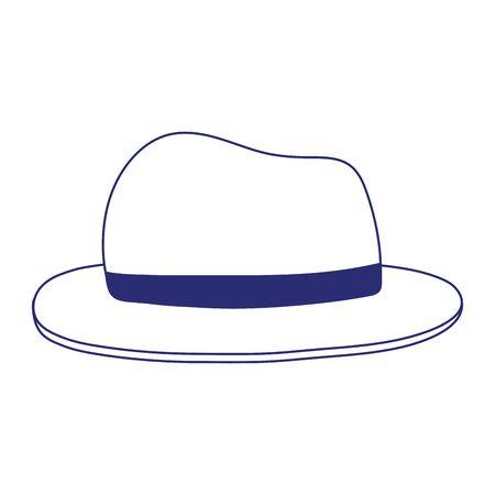 Isolated hat icon vector design Illusztráció