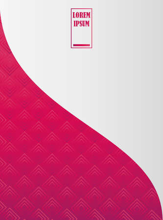 background geometric mosaic red cover template design vector illustration 일러스트
