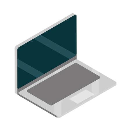laptop device wireless technology isometric