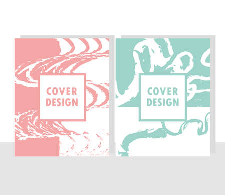 cover design grunge abstract texture