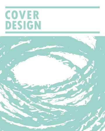 cover design strokes grunge green
