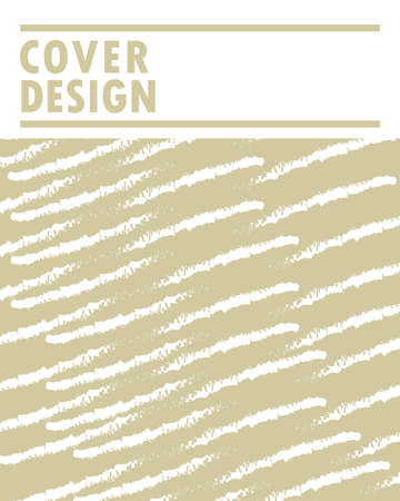 cover design minimalistic art strokes