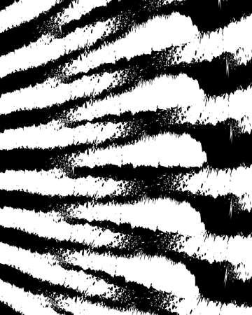 grunge figures pattern captivating trendy Ilustração