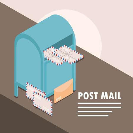 post mail courier envelopes letter