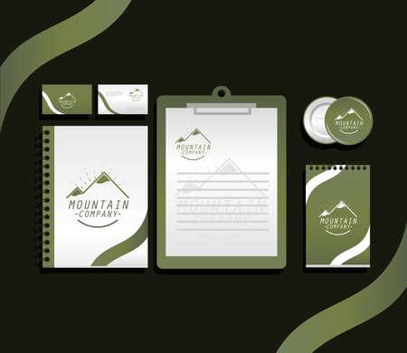 corporate identity branding template set