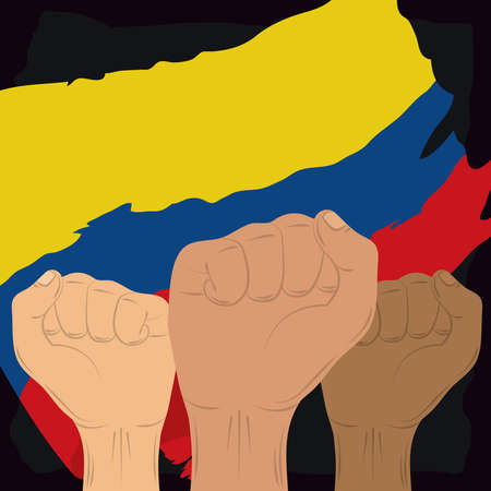 Colombia hands activists