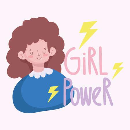 Girl Power lettering