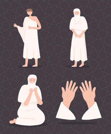 muslim people prayers