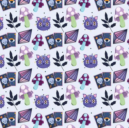magical cat tarot cards