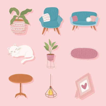 set of comfy home