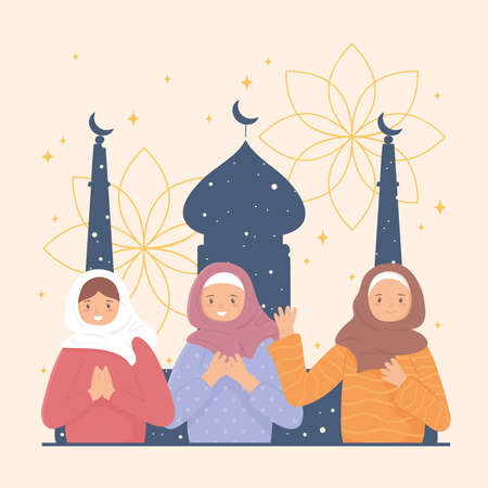muslim women and mosque