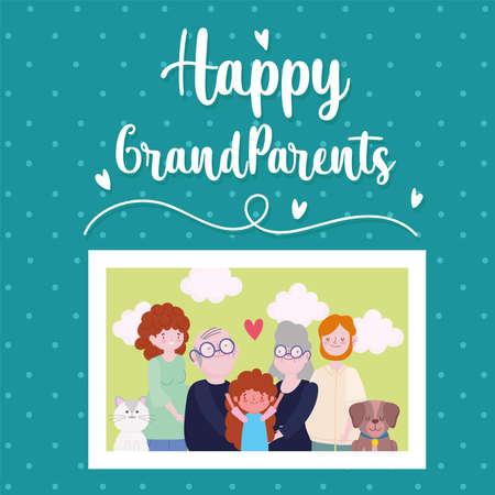 happy grandparents picture