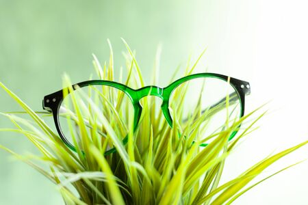 vision glasses, vision problems, optometrist, vision improvement, ophthalmologist prescription Reklamní fotografie