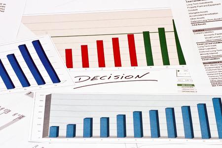 decission: Decisione su grafici finanziari e grafici