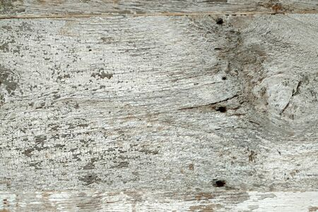 a wood panal plank on a wall Stock Photo