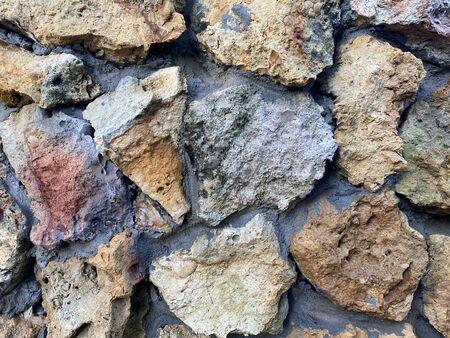 stone rock wall texture natural