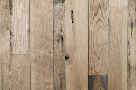 a vintage old natural wood wall panel background