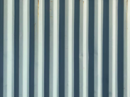white bright shadow old corrugated shipping container wall suitable for website marketing background backdrop setting architecture architectural layout pattern decoration poster presentation design Stock Photo
