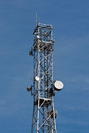 Communication tower photo