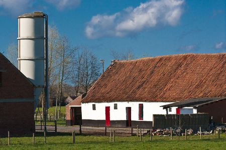 pastoral: Nice pastoral farm in countryside