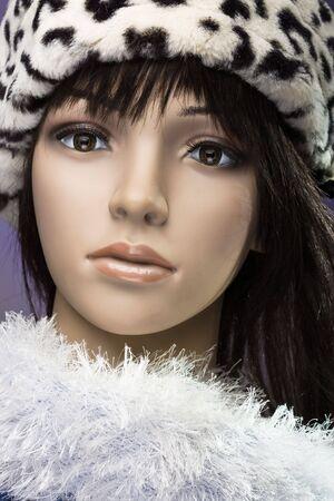 fashion mannequin head photo