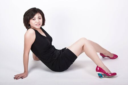 sexy asian pinup Stock Photo - 6108831