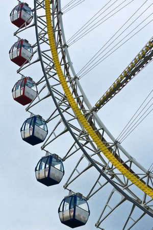 ferris wheel with blue sky in background Stock Photo - 6181515