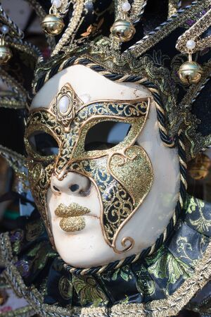 venecian: beautiful decorative venetian mask