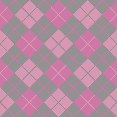 argyle pink seamless background