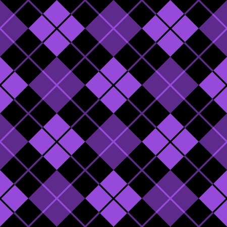argyle purple seamless background Stock Photo - 9748295