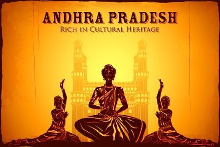 안드라 프라데시, 인도의 문화를 묘사하는 그림