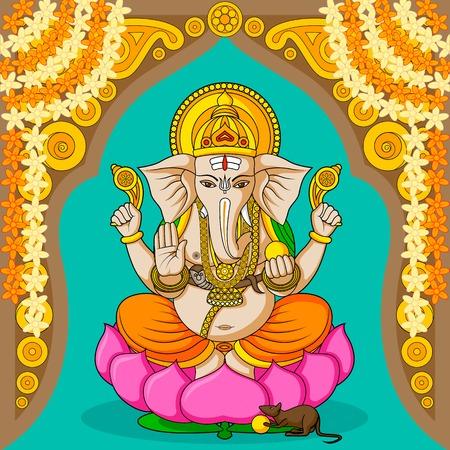 ganesh: Ganesha Vectores