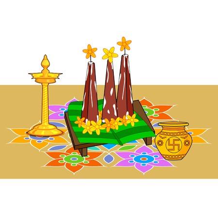 pookolam: Poorada Uttigal for Onam decoration