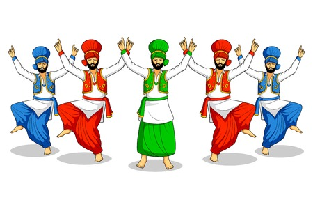 Sikh doen Bhangra