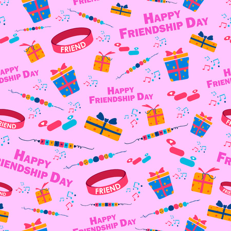 friendship day: Background for Happy Friendship Day in vector