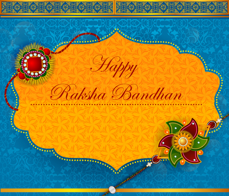 Elegant Rakhi for Brother and Sister bonding in Raksha Bandhan festival from India