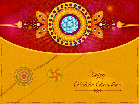 festive occasions: Elegant Rakhi for Brother and Sister bonding in Raksha Bandhan festival from India