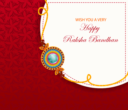 Elegant Rakhi for Brother and Sister bonding in Raksha Bandhan festival from India