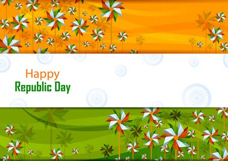 26th January, Happy Republic Day of India Фото со стока - 92482999