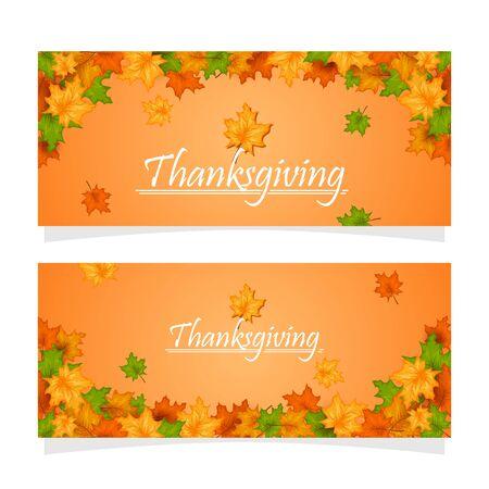 Carte de voeux de joyeuses fêtes de Thanksgiving