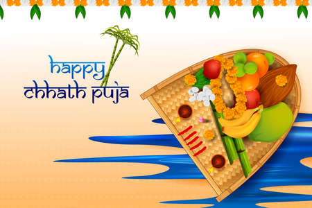 Traditional festival of Bhiar, Bengal and Nepal Chhath Puja